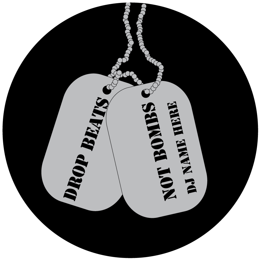 Drop Beats - Dog Tags